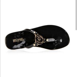 Michael Kors MK Jelly Flip Flops